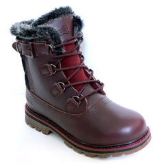 NexxGrip London Burgundy Leather Boot