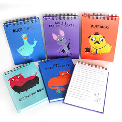 Fugly Friends Notepads Assorted