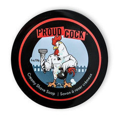 Walton Wood Farm Proud Cock Creamy Shave Soap