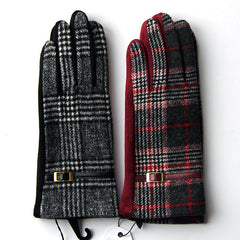 Pia Rossini Ladies Plaid Gloves