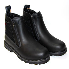 NexxGrip Ice Katia Black Leather Boot