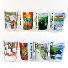 Maud Lewis Mugs Tall
