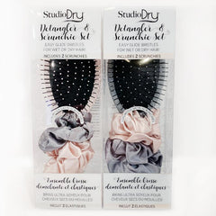 Studio Dry Detangler & Scrunchie Set