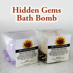 Little Luxuries Hidden Gems Bath Bomb