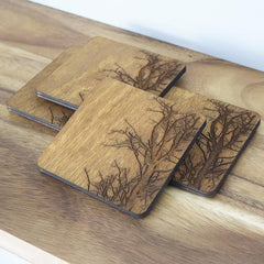zealousdecor Tree Branch Coasters