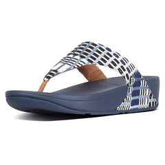 FitFlop Lulu Art-Denim Thong Sandal