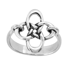 Boudicca Ring - Knot Cross