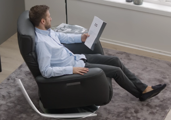 Unbelievable comfort with the new Stressless Mike Recliner