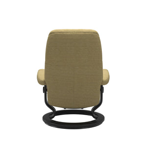 Stressless® Consul (M) Classic chair with footstool