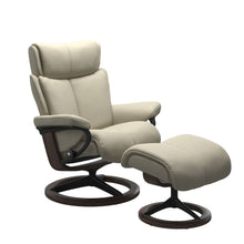 Load image into Gallery viewer, Stressless® Magic (L) Signature chair with footstool