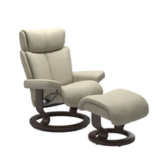 Load image into Gallery viewer, Stressless® Magic (M) Classic chair with footstool