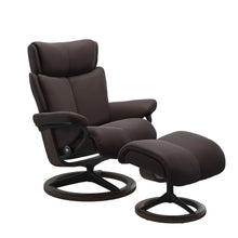 Load image into Gallery viewer, Stressless® Magic (M) Signature chair with footstool