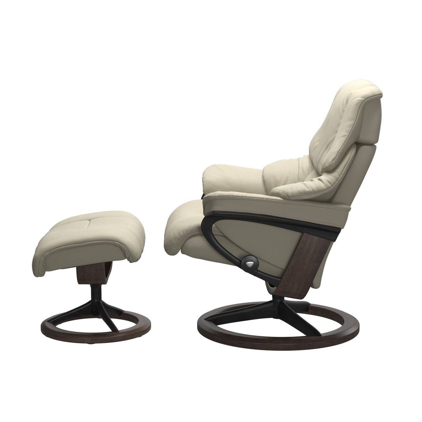 Stressless® Reno (L) Signature chair with footstool
