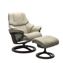 Load image into Gallery viewer, Stressless® Reno (L) Signature chair with footstool