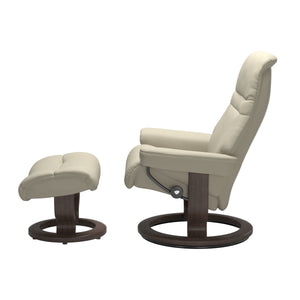 Stressless® Sunrise (S) Classic chair with footstool