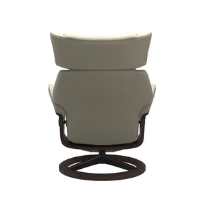 Stressless® Skyline (S) Signature chair with footstool