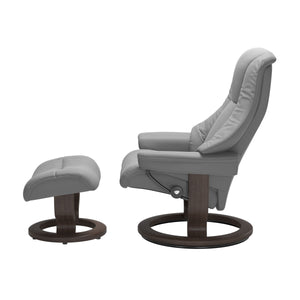 Stressless® Live (S) Classic chair with footstool