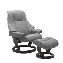 Load image into Gallery viewer, Stressless® Live (S) Classic chair with footstool