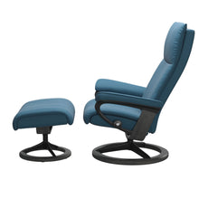 Load image into Gallery viewer, Stressless® Aura (M) Signature chair with footstool