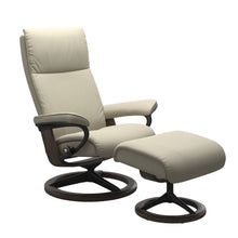 Load image into Gallery viewer, Stressless® Aura (L) Signature chair with footstool
