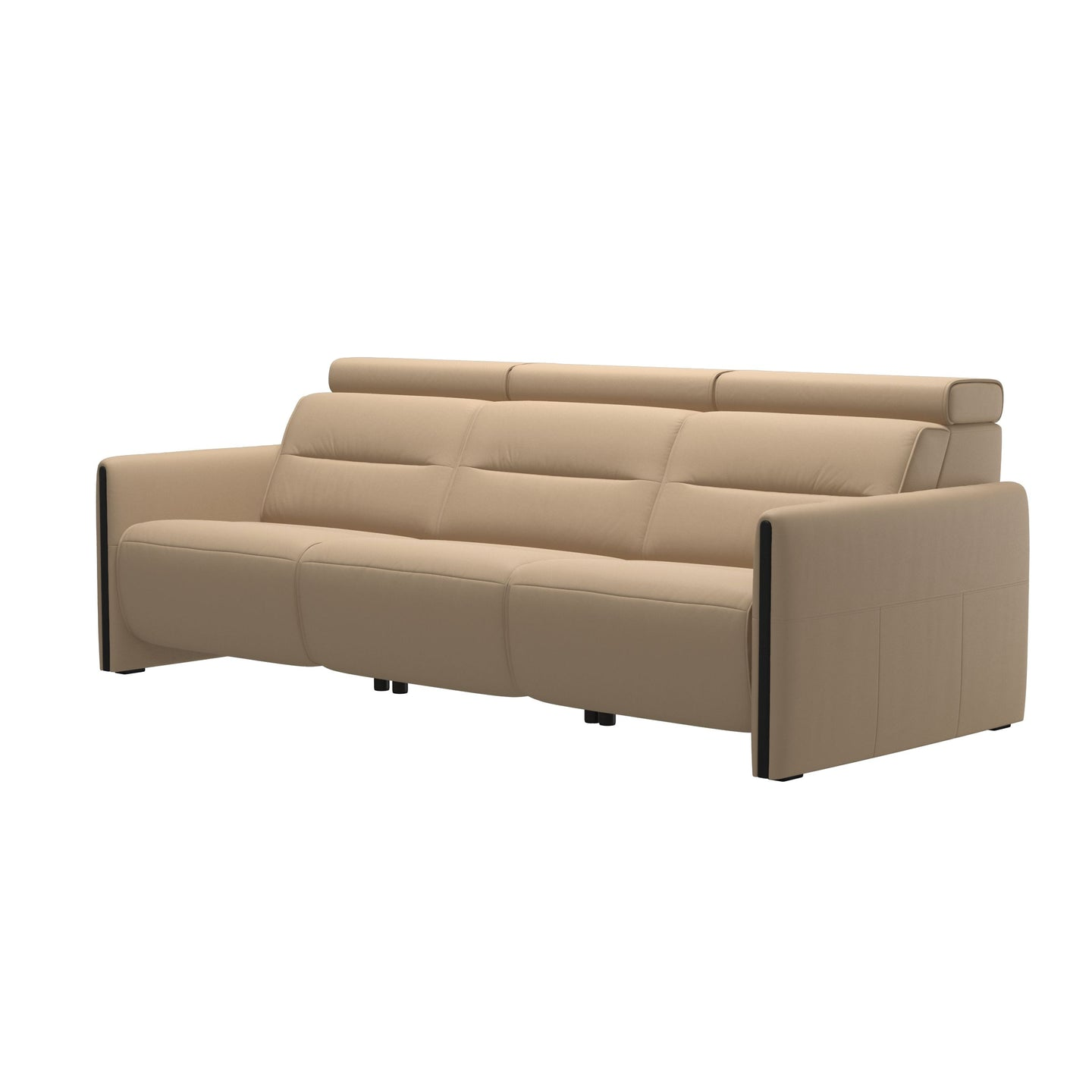 Stressless® Emily arm wood 3 seater