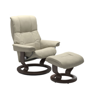 Stressless® Mayfair (L) Classic chair with footstool