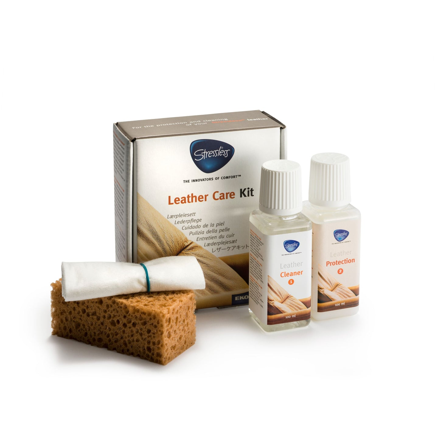 Stressless® Leather Care Kit 100 ml