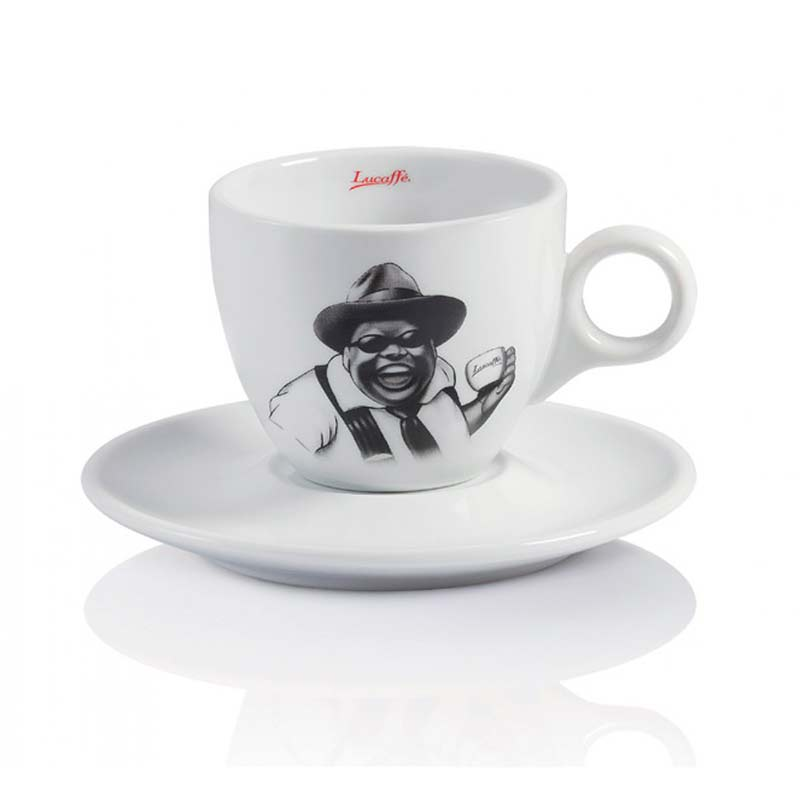 Lucaffe Taza Cappuccino Mr. Exclusive 6 Unidades