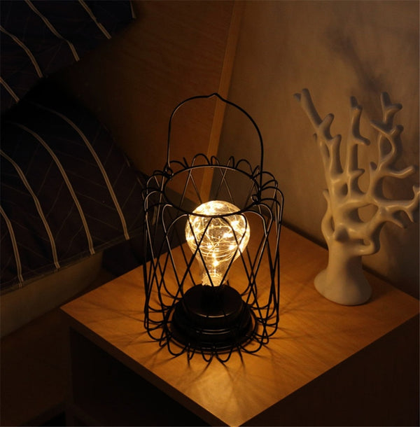 Hollow Table Lamp