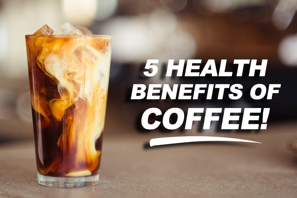 5 Health Benefits of Coffee!
