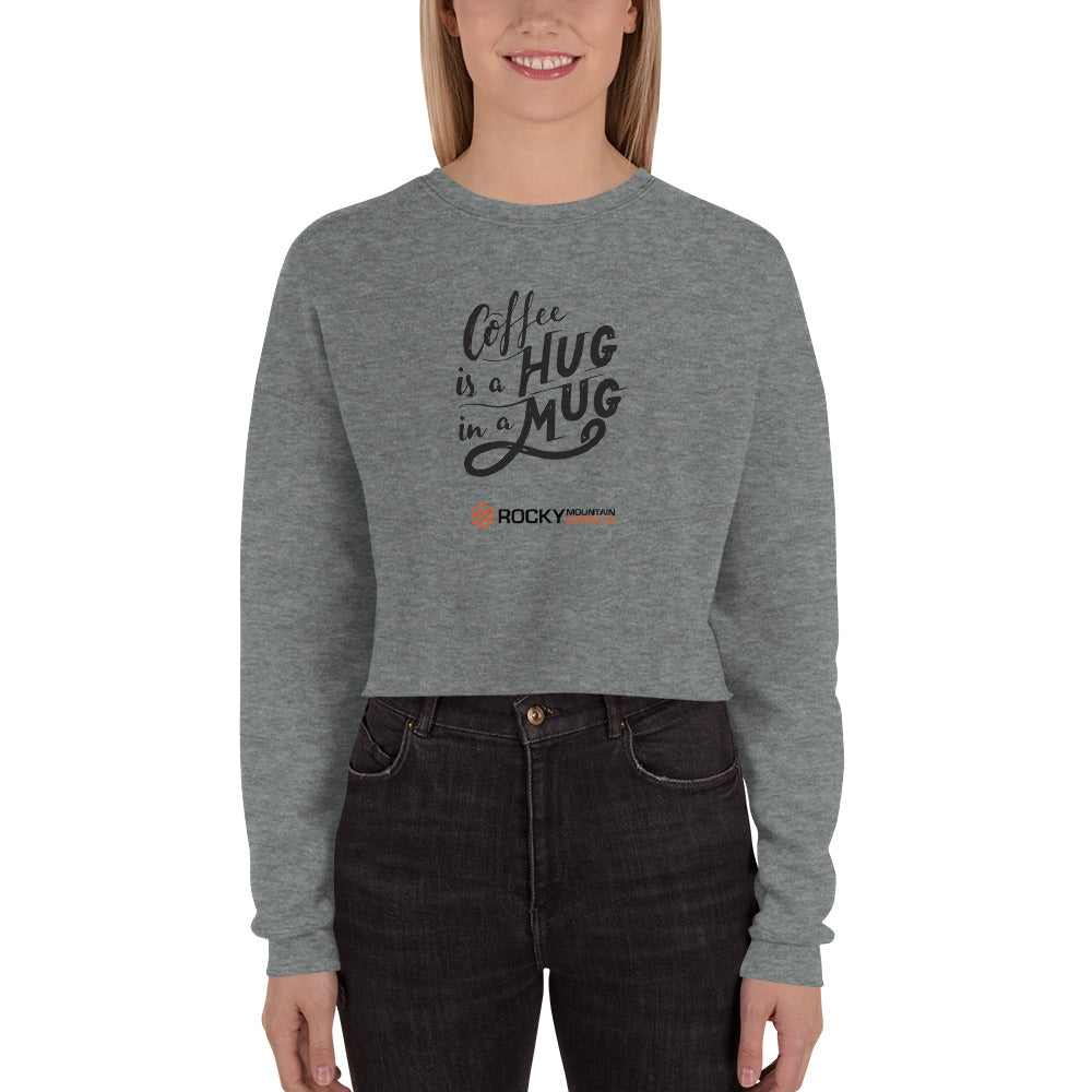 Hug in a Mug Crop Sweater