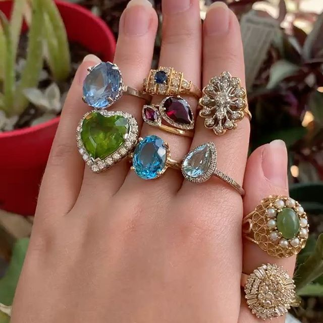 Estate Gemstone Jewelry
