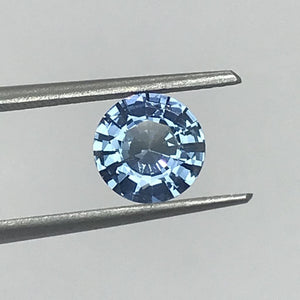 Loose Blue Natural Sapphire 1.45 cts Round-Gemstone-Bryant Gems