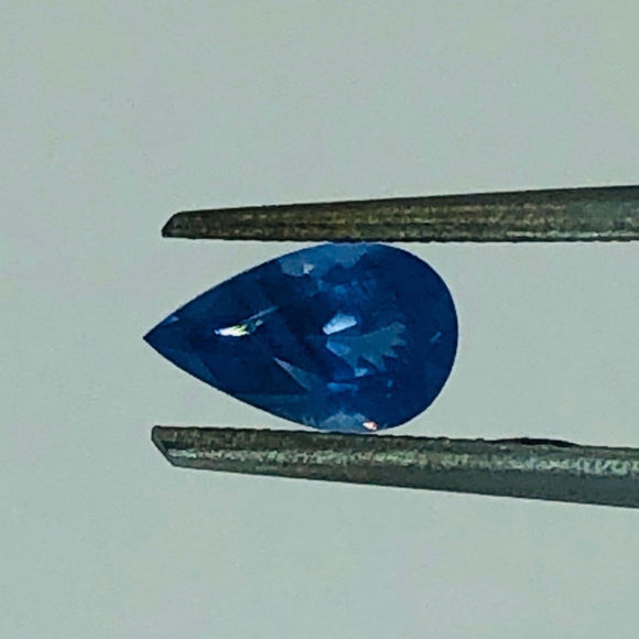 Loose Blue Natural Sapphire .66 cts Pear Shaped-Gemstone-Bryant Gems