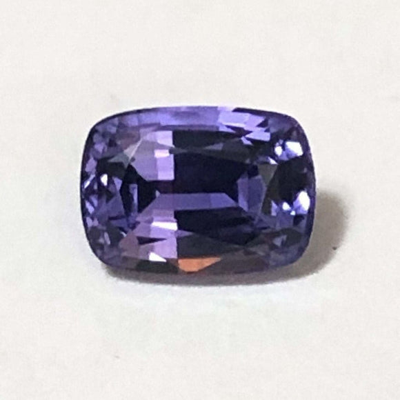 Loose Bluish Purple Natural Sapphire 1.39 cts Cushion cut-Gemstone-Bryant Gems
