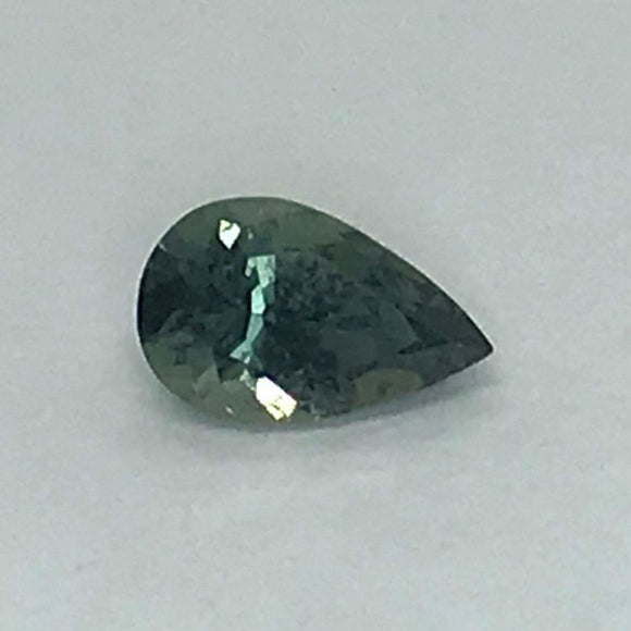 Loose Green Natural Sapphire .97 cts Pear Shaped-Gemstone-Bryant Gems