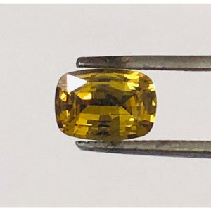 Loose Orange Yellow Natural Sapphire 1.54 cts Cushion Cut-Gemstone-Bryant Gems