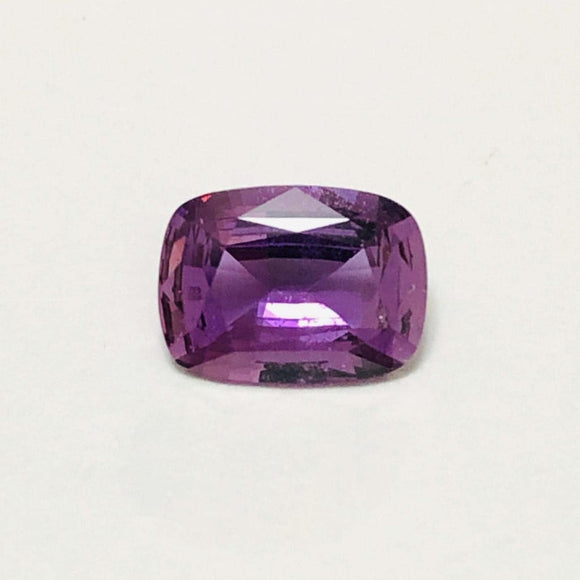 Loose Pink Purple Natural Sapphire 1.38 cts Cushion Cut-Gemstone-Bryant Gems