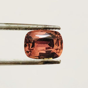 Loose Pinkish Brown Natural Sapphire 1.81 cts Cushion Cut-Gemstone-Bryant Gems