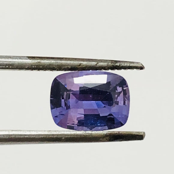 Loose Violet Natural Sapphire 1.52 cts Cushion Cut-Gemstone-Bryant Gems