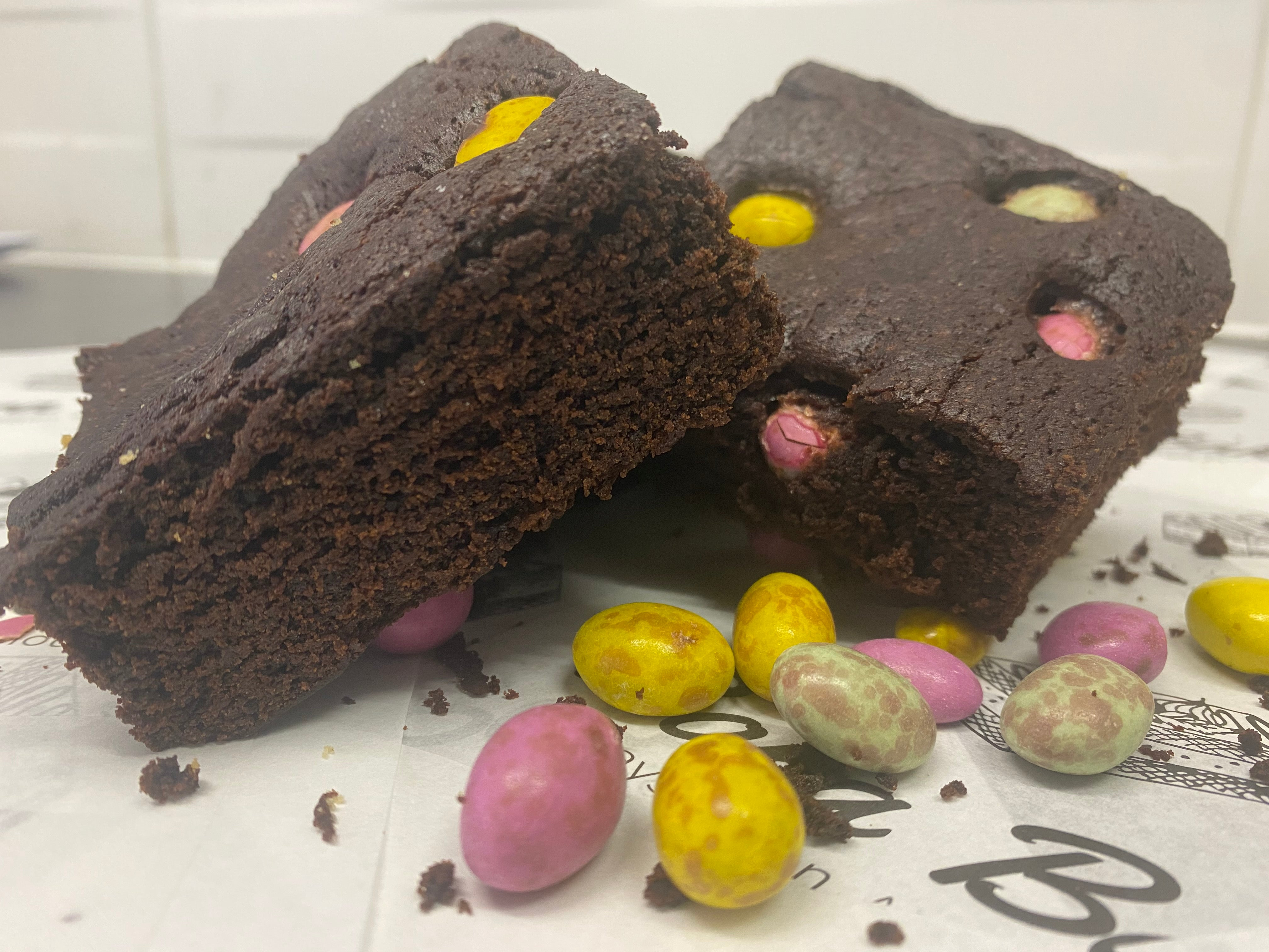 Pack of 4 Easter Brownies (VGN)