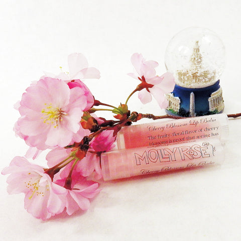 FLAVOR OF THE MONTH Cherry Blossom Lip Balm ENDS 4/30
