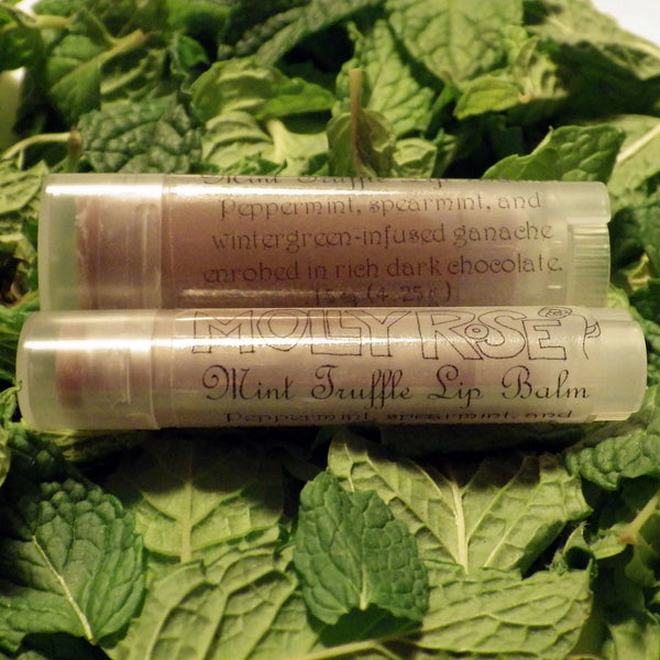 FLAVOR OF THE MONTH Mint Truffle Lip Balm ENDS 1/31