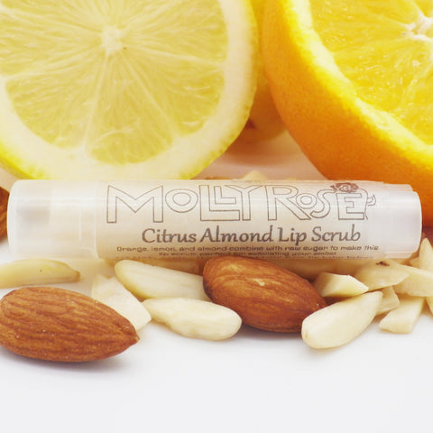 Citrus Almond Lip Scrub