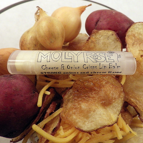 Cheese & Onion Crisps Lip Balm