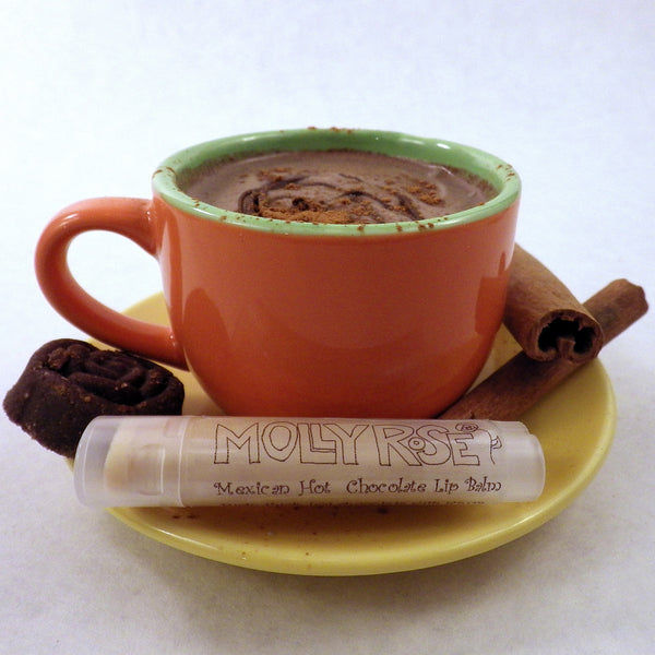 FLAVOR OF THE MONTH Mexican Hot Chocolate Lip Balm ENDS 5/31