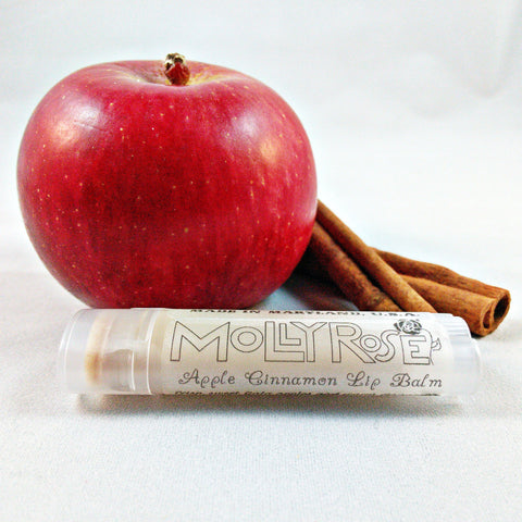 FLAVOR OF THE MONTH Apple Cinnamon Lip Balm ENDS 9/30