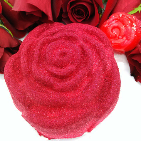 Red Rose Salt Bomb