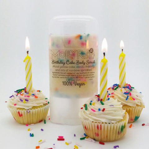 Birthday Cake Body Scrub