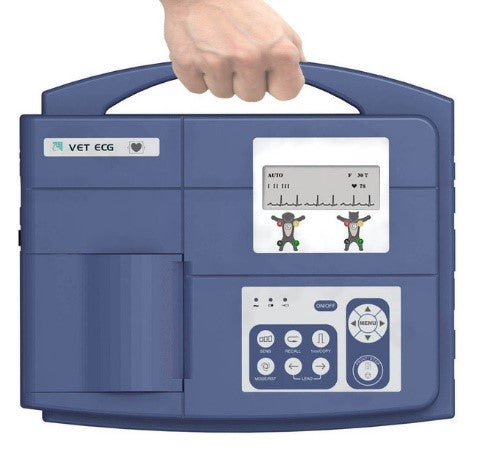VE-100 Single-channel Veterinary ECG